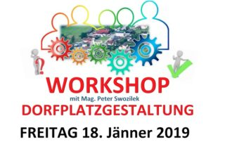 Workshop Dorfplatzgestaltung