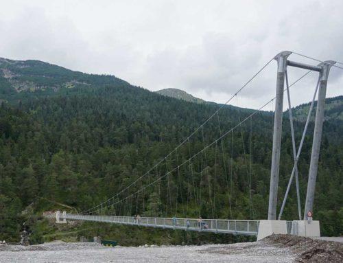 Neue Hängebrücke in Forchach!