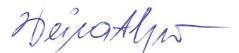unterzeichnet