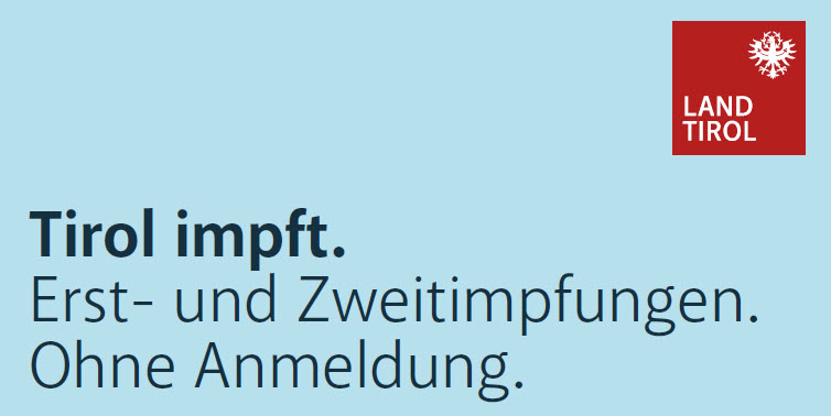 Tirol impft. Öffnungszeiten Impfzentrum Reutte